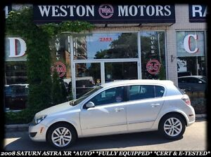 2008 Saturn Astra XR *AUTO *FULLY EQUIPPED *CERT & E-TESTED