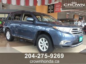 2013 TOYOTA HIGHLANDER SE - ONE OWNER, LOCAL TRADE!