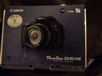 Canon. PowerShot SX40HS