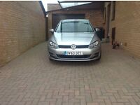 Volkswagen Golf 1.6 SE Bluemotion Tech T Automatic Diesel Silver