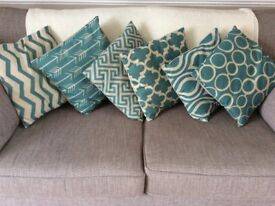 Selection of 6 cushion