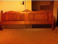 King size Jaycee Pine Bed