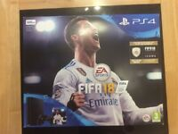 NEW PlayStation 4 & FIFA 18 Bundle [unopened]