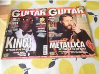 Vintage Guitar magazibes