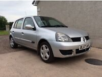 2007 Renault Clio 1.2 campus (not ford vw Corsa 206 )