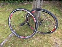 Airline racing bike wheels
