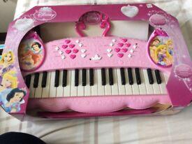 Disney Princess electronic keyboard