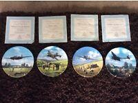 19 RAF Commemorative wall plates