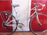 "Ladies Roadbike - refurbished 22"" Raleigh - 28"" wheels, 10-speed"