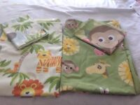 KIDS QUILT COVERS WITH MATCHING PILLOW CASE