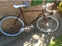STATE BICYCLE CO FIXED GEAR ROAD BIKE