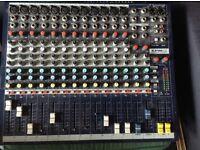Sound raft EPM12 mixing desk