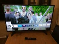 43 INCH TOSHIBA SMART WIFI HDR LED TV HD READY FREEVIEW MODEL 43UL2063DB WITH REMOTE CONTROL