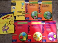 English & Maths practice books