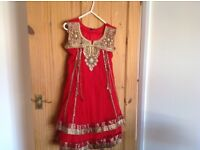 Indian girls suits size 32 hardly worn