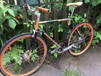 Peugeot Single Speed / Fixed Gear Conversion bike