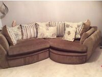 Lulu cosy corner couch
