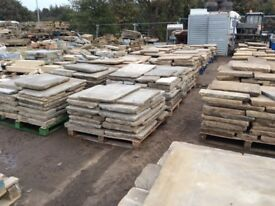 Cathedral Grade Reclaimed York stone EXCESS STOCK MUST GO OCT/NOV!! 500m2 + IN STOCK!