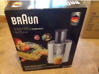 Braun Spin Juicer high performance 900watt