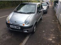 Silver Chevrolet matiz low mileage 2 owners from new,