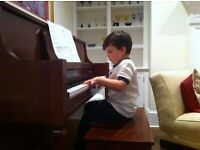 Piano lessons for children/in-house/ Putney/ Barnes/ East Sheen/ Hammersmith