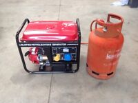 L.P.G. Gas Generator 2500CLE Electric Start