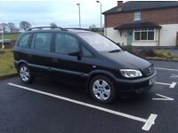 Vauxhall Zafira Elegance Automatic 1.8, 7 Seats, Petrol, Full leather & heated front seats, Tow bar
