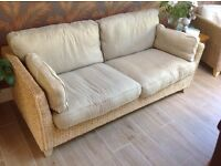 Two rattan sofas for sale - Excellent condition