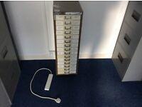 15 drawer metal office cabinet