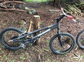 DaBomb trials bikes