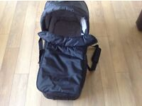 Black baby jogger carrycot