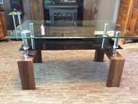 Morden glass table