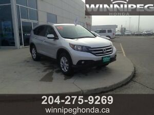 2014 Honda CR-V EX-L. Local Manitoba vehicle, One owner, Amazin