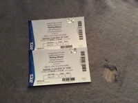 2 Rolling Stones Tickets on 9th of June @ Murrayfield **PRICE REDUCTION**