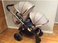 iCandy Peach 3 Azure Double Blossom Pushchair