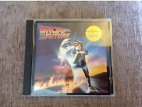 Back to the Future part 1 movie Soundtrack cd