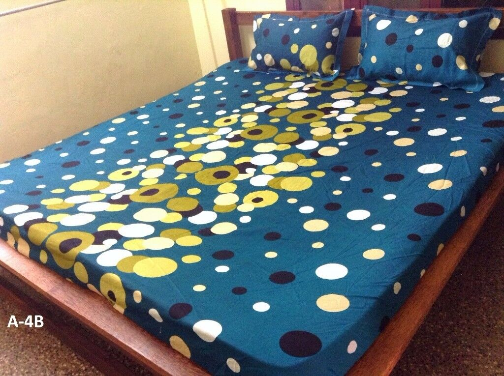 MYNA BRAND FITTED BED SHEETS