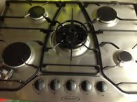 Hotpoint 5 ring Gas Hob