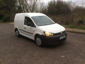 Volkswagen caddy 1.6tdi NO VAT 2013/13