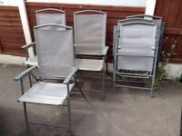 Garden Table & Six Chairs