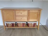 Console sideboard, solid Canadian Maple
