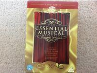 Musicals DVDs x 5 Box Set