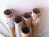 Cardboard Tubes 145-155cm long