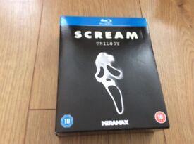 Blu ray scream trilogy