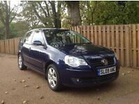 2009 09 Reg VOLKSWAGEN POLO MATCH 1.4 TDi in lovely condition, low mileage, just serviced