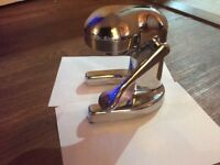 Stainless steel citrus juicer in excellent condition for kitchen