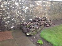 Garden rockery stones all sizes