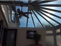 Double Glazed Conservatory with Tinted Glass Roof