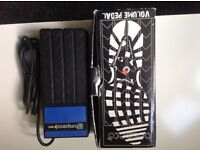 Bespeco volume pedal as new boxed