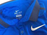 Nike, Adidas soccer trainers tee shirt kids